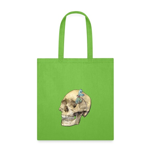 Skull & Dragonfly - Tote Bag