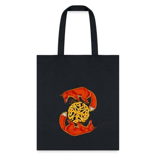 Circling Foxes - Tote Bag