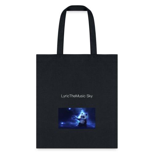 """LyricTheMusic Sky"" MERCH - Tote Bag"