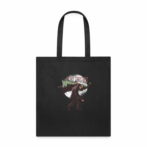 Bigfoot christmas - Tote Bag