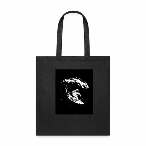 Astronaut Surf tshirt 01 HQ 01 - Tote Bag