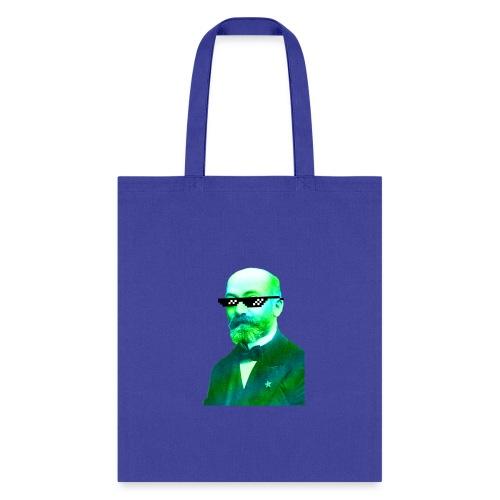 Green and Blue Zamenhof - Tote Bag