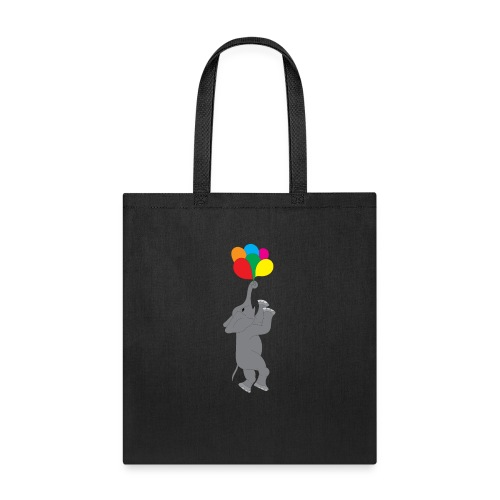 Flying Elephant 01 - Tote Bag