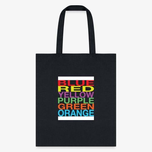 Color Confusion - Tote Bag