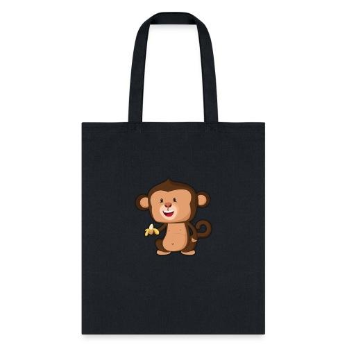 Baby Monkey - Tote Bag