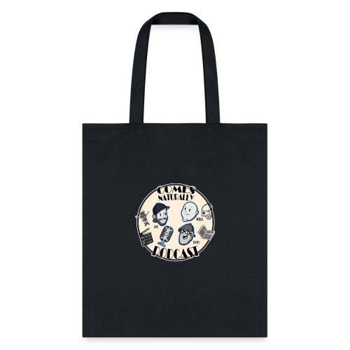 Comes Naturally Logo - Tote Bag