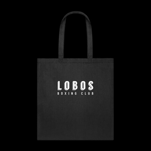 Lobo s Text no apostrophe WHITE - Tote Bag