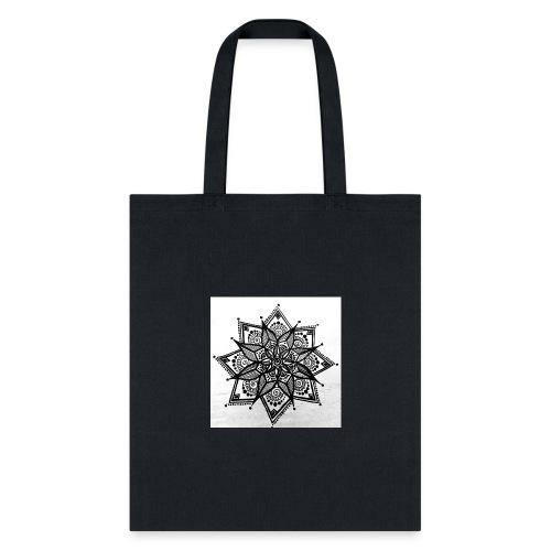 Handmade Mandela Design - Tote Bag