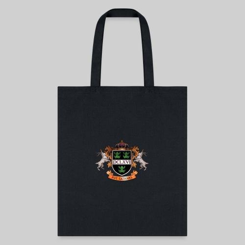 Satanic Heraldry - Coat of Arms - Tote Bag