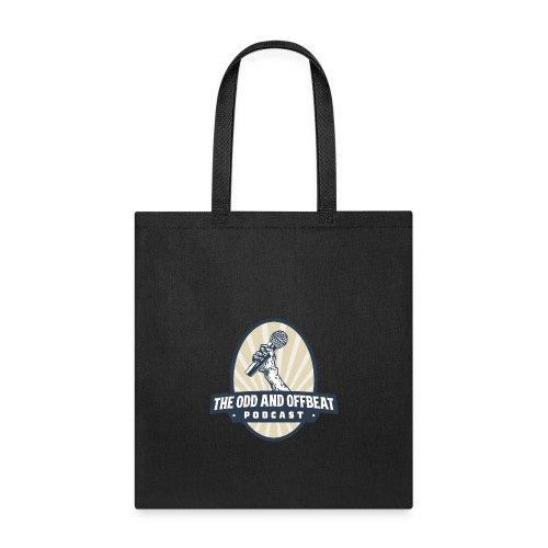 The Odd and Offbeat Podcast Logo - Tote Bag