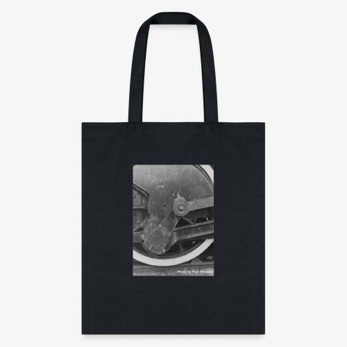 Steam Train Wheel - Tote Bag