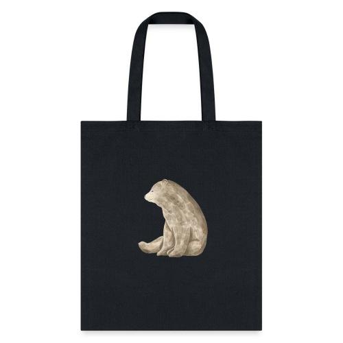 Sitting Bear - Tote Bag