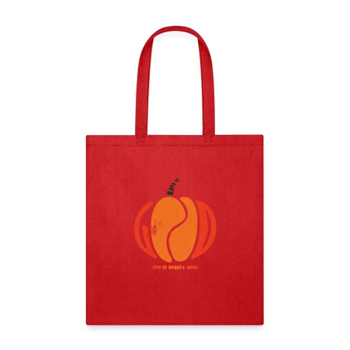 Life Is Really Good Pumpkin - Tote Bag