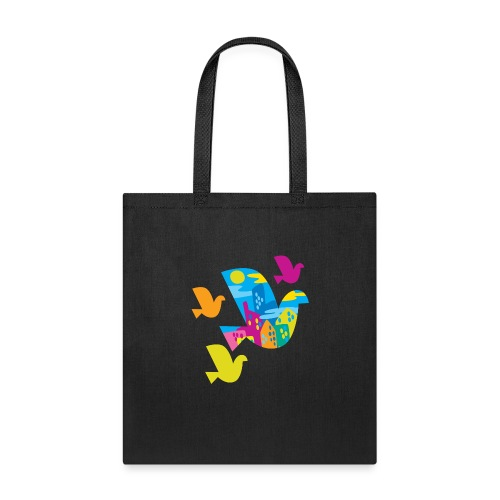 city bird - Tote Bag