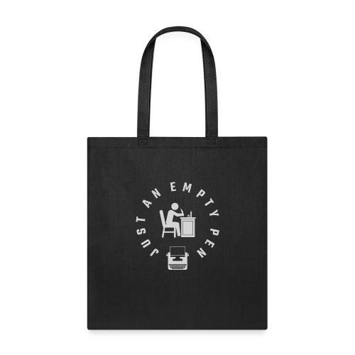 Just An Empty Pen (white logo) - Tote Bag