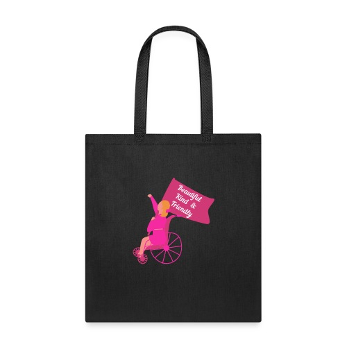 Beautiful Kind and Friendly - Tote Bag
