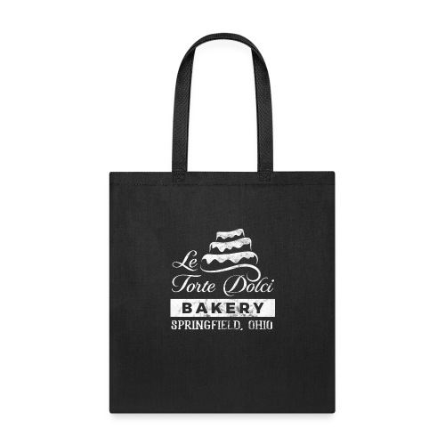 Le Torte Dolci Logo Worn White Ink Version - Tote Bag