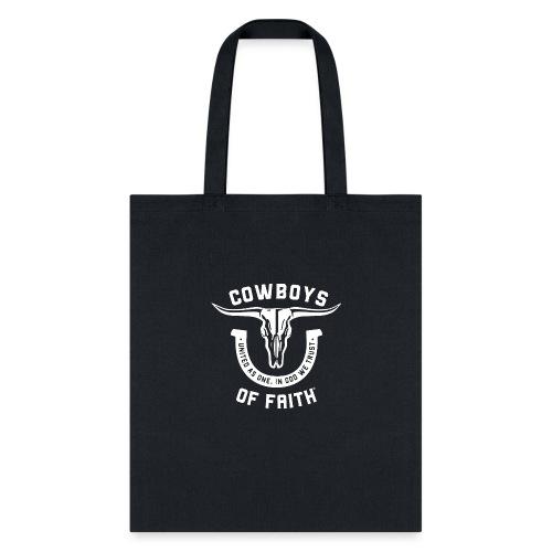 Cowboys of Faith - Tote Bag