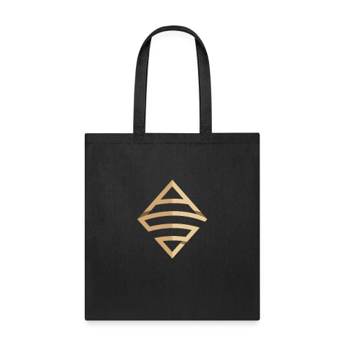 Anthony B. Smoak Shiny Gold Logo Design - Tote Bag