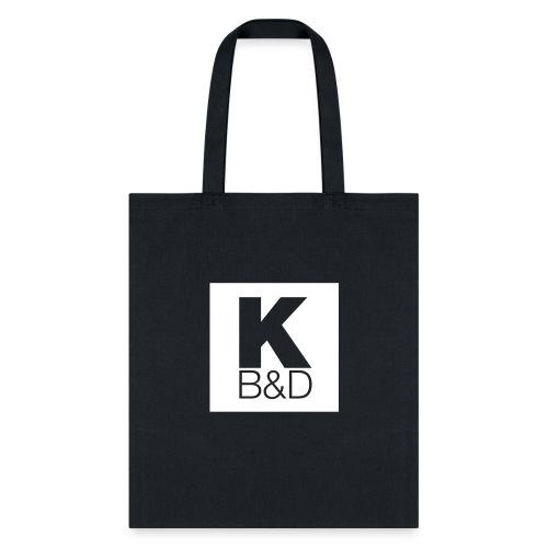 KBD_White - Tote Bag
