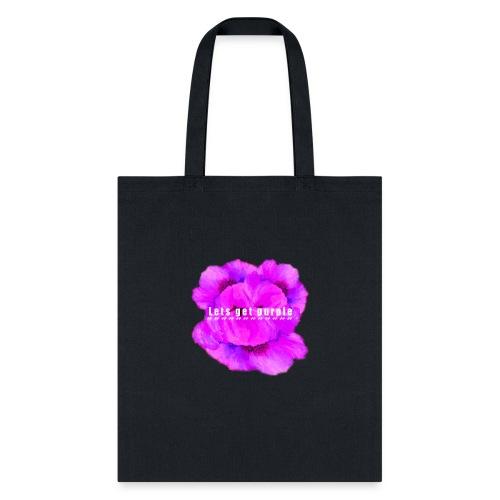 lets_get_purple_2 - Tote Bag