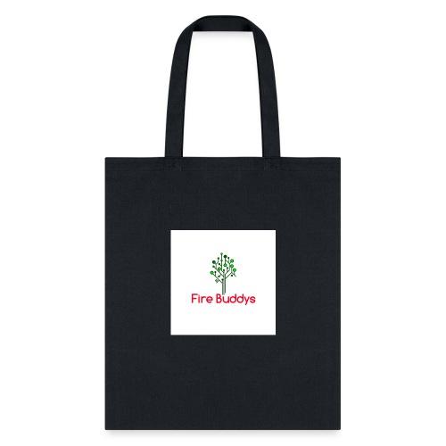 Fire Buddys Website Logo White Tee-shirt eco - Tote Bag