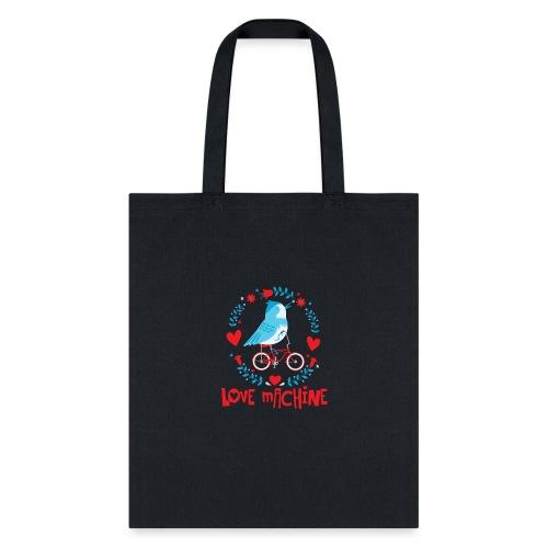 Cute Love Machine Bird - Tote Bag