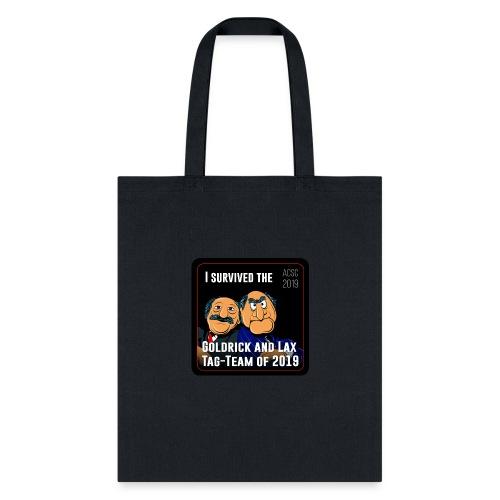 Goldrick and Lax Tag Team - Tote Bag