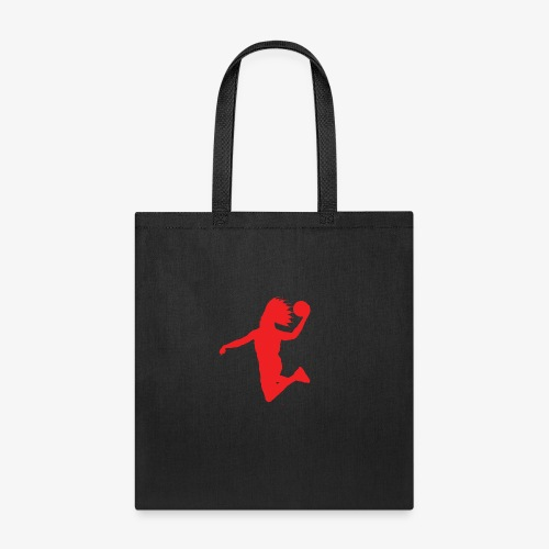 EVB Classic Red and Black - Tote Bag