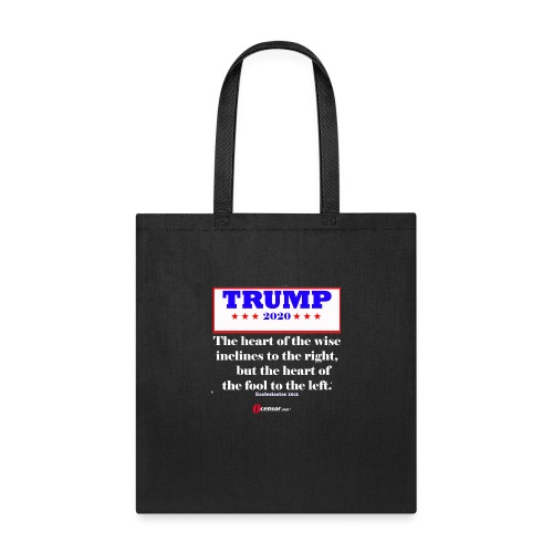 Trump 2020 Eccl 10 2 Inverted - Tote Bag