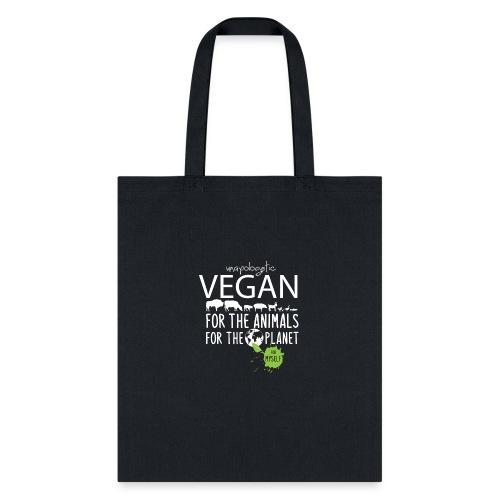 unapologetic VEGAN - Tote Bag