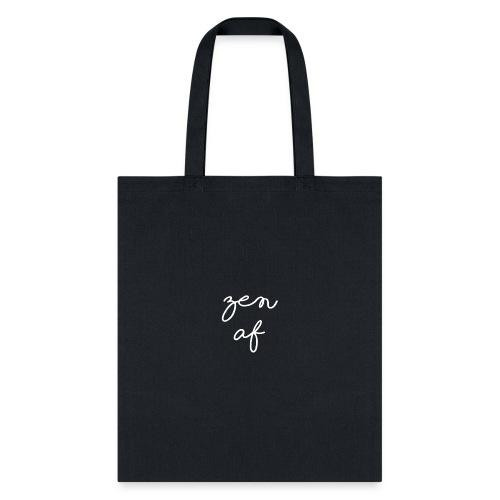 Zen AF Script - Tote Bag