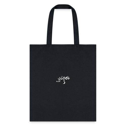 YOGA white fancy - Tote Bag