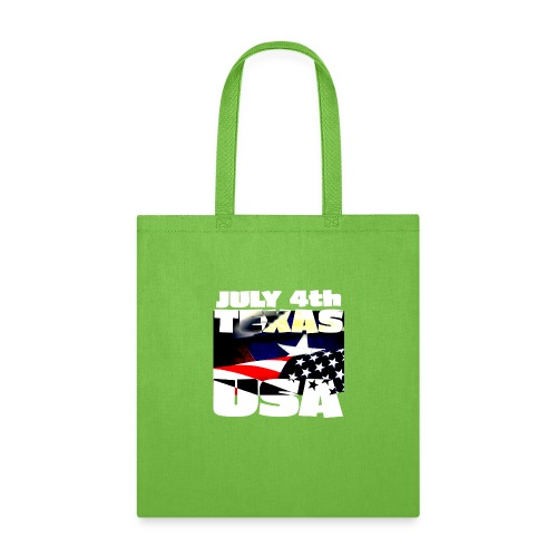 July 4th Texas USA - Tote Bag