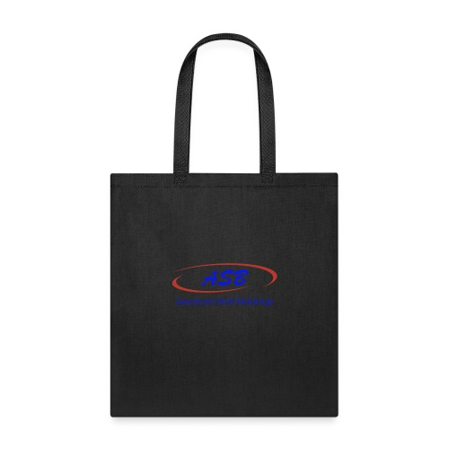 Color Logo Initials With Name - Tote Bag