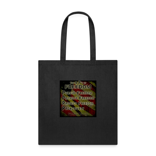 The 4 Ps of Freedom - Tote Bag
