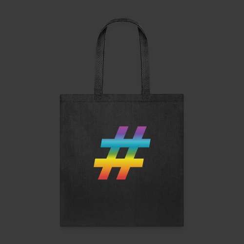 Rainbow Include Hash - Tote Bag
