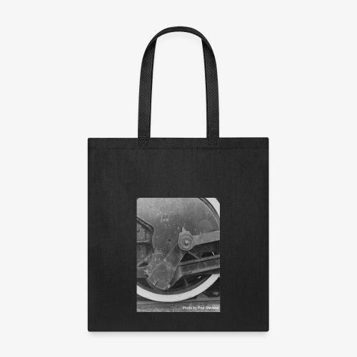 Steam Train Wheel - Tote Bag
