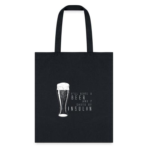 Beer and 2 Shots - Tote Bag