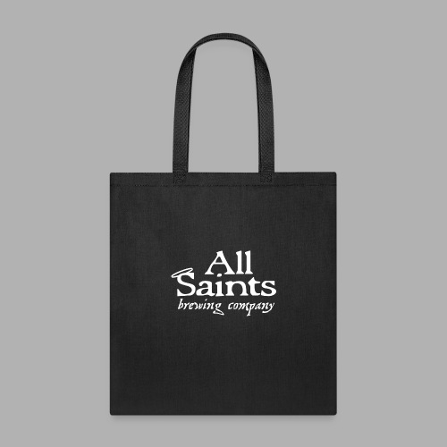 All Saints Logo White - Tote Bag