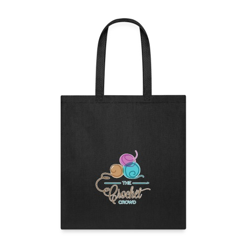 The Crochet Crowd Logo - Tote Bag