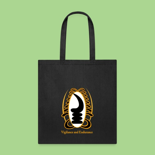 VIGILANCE AND ENDURANCE2 png - Tote Bag