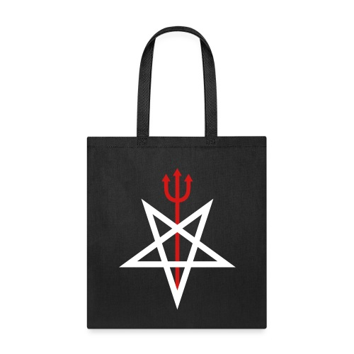 Pitchfork Pentagram - Tote Bag
