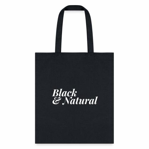 Black & Natural Women's - Tote Bag