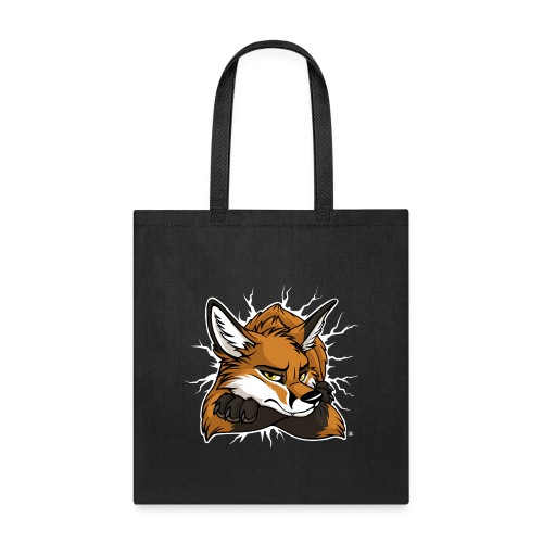 STUCK grumpy Fox Red (double-sided) - Tote Bag