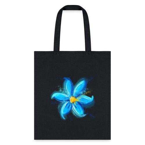 Blue Flower - Tote Bag