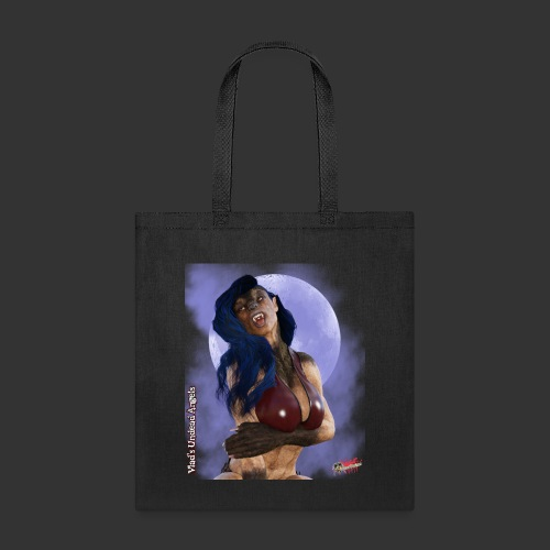 She-Werewolf By Moonlight - Tote Bag