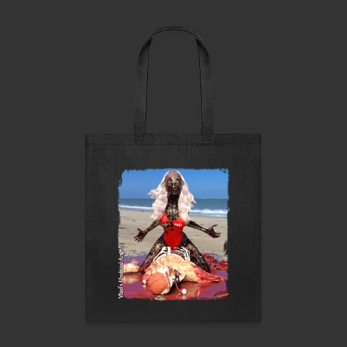 Undead Angels: Zombified Lifeguard Shay - Tote Bag