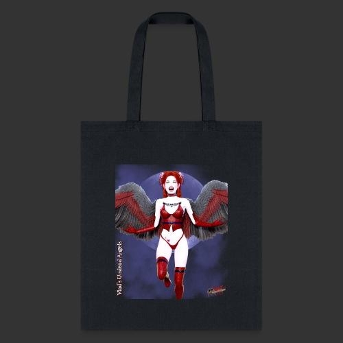 Undead Angels By Moonlight Vamp Cupid Scarlet 1 - Tote Bag