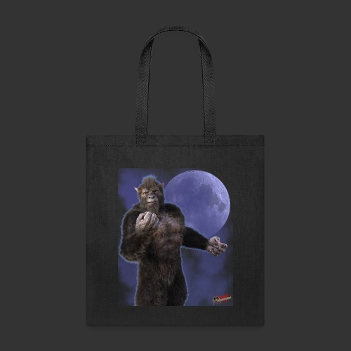 Undead Angels By Moonlight: Wolf Beast - Tote Bag